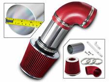 Short Ram Air Intake Kit + RED Filter for 03-05 Range Rover 4.4L V8