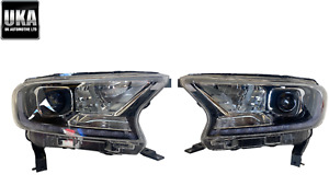 HEADLIGHTS FORD RANGER BI LED LIGHTS PAIR 2020 2021 JB3B13E015AA JB3B13E014AA