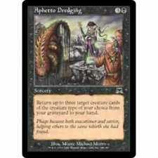4x Aphetto Dredging NM-Mint English Onslaught MTG Magic