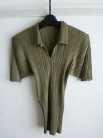issey miyake pleats please top made in japan F/S excellent size 3
