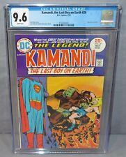 KAMANDI, THE LAST BOY ON EARTH #29 (Superman story) CGC 9.6 NM+ Wht Pgs DC 1975