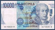 BILLET de BANQUE.ITALIE.10 000 LIRE Pick n° 112.a du 3-9-1984 en SUP SG 728281 D