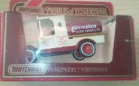 MATCHBOX MOY DIECAST FORD MODEL T VAN 1912 TANKER CARNATION FARM PRODUCTS