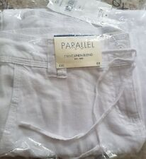 BNWTS WHITE LINEN  BLEND  TROUSERS from Next  size  8P