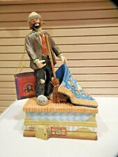 San Francisco Music Box Co. Emmett Kelly Figurine-Sweeping Up-Nwt