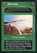 Star Wars CCG Theed Palace AAT Laser Cannon