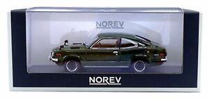 NOREV 1972 MAZDA SAVANNA RX-3 COUPE 1:43 SCALE DARK GREEN