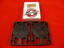 "INDEPENDENT SKATEBOARD RISER PADS  1/4"" SET OF 2 PADS *NEW*"