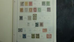Suriname stamp collection on Scott Int'l pages to '79 w/est #540 stamps