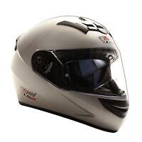 LS2 Integralhelm FF352 - Silber - Motorrad Helm - Motorradhelm - Speed/LS2 Logo