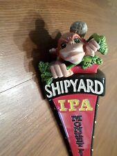 "New TAll Badass MONKEY Fist Shipyard IPA Figural 11.5"" Beer Keg Tap Handle"