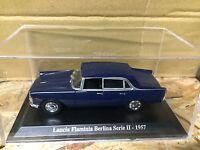 "DIE CAST "" LANCIA FLAMINIA BERLINA SERIE II - 1957 "" + TECA RIGIDA BOX 2 1/43"