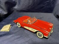 Franklin Mint 1959 Chevrolet Corvette 1:24 Scale Diecast Replica With Hang Tag