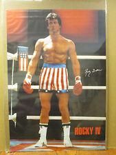 Rocky IV 1985 Balboa ORIGINAL Vintage Poster 6087