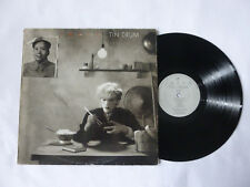 JAPAN ~ TIN DRUM ~ ORIGINAL VIRGIN 1981 UK NEW WAVE VINYL LP ~ USED BUT PLAYS OK