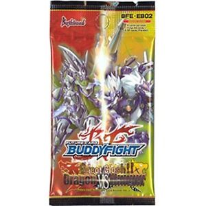 7x Dragon Vs. Danger: Booster Pack New Sealed Product - Future Card: Buddyfight