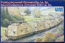 UM-MT Models 1/72 GERMAN ARMORED RECONNAISSANE TRAIN Le.Sp.