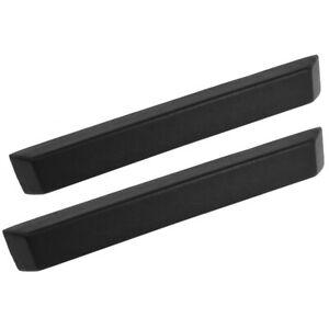 64 65 66 Ford Mustang Arm Rest Pad, Black, PAIR