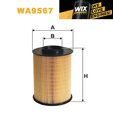 1x Wix Air Filter WA9567 - Eqv to Fram CA10521