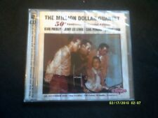 MILLION DOLLAR QUARTET 50TH ANNIVERSARY 2CD SEALED/NEW-PRESLEY,PERKINS,CASH