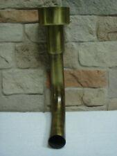 Raccordo curvo bronzato 90° per cassetta a zaino cassetta bassa in porcellana