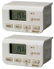 Indoor 24-Hour Digital Timer Automatic Turns On/Off Lights Fans Xmas Tree Lights