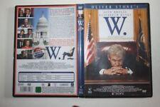 W. ( BUSH ) Ein missverstandenes Leben Oliver Stone DVD  FSK12