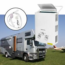 2 GPM 6L Portable Tankless Hot Water Heater RV's & Campers Propane Gas LPG 12KW