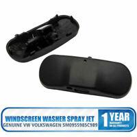 2x Boquilla de chorro Parabrisas Lavadora rociar para VW VOLKSWAGEN GOLF PASSAT