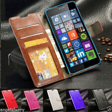 Flip Leather Wallet Case Cover For Nokia Lumia 640 & 640 XL