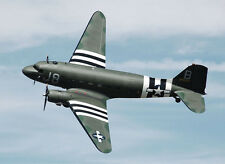 "Model Airplane Plans (Uc): Douglas C-47 1/24 Scale 48""ws for .14-.23s (Musciano)"