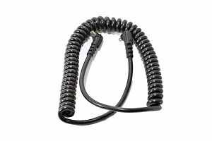 PC-PC Coiled Flash Extension Lead Male to Female 1.5 Metre