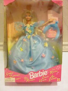 BARBIE SONGBIRD BLUE DRESS 1995 NIB