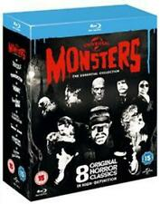 Universal Monsters The Essential Collection 8 Blu-ray Terror R2