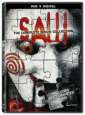 SAW Complete 1-7 Final Cut Film Collection Box Set (NEW DVD)