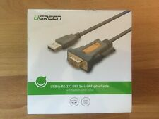 UGREEN USB to RS-232 DB9 Serial Adapter Cable Prolific PL2303 Chipset