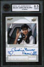 2019 UD Upper Deck #A-CM Caroline Munro Autograph  KSA 8.5 NMM+ Naomi 007