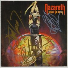 Nazareth JSA signed autograph CD Booklet Darrell Sweet Pete Agnew Dan McCafferty