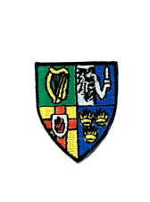 Patch flag coat of arms shield emblem country embroidered badge ireland province
