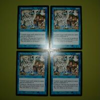 4 x Thornwind Faeries PL Urza/'s Legacy MTG Magic The Gathering Blue English Card
