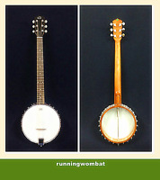 BJ-006-OB Caraya 6-String Banjo Openback w/ Accessories