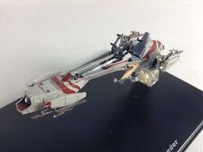 BARC SPEEDER  STAR WARS diecast model in display case
