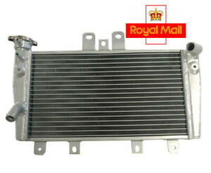 Aluminum High-quality Radiator For Triumph Speed 1050 Triple 2005- 2010 Silver