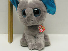 "MEDIUM 9"" NWT RETIRED TY beanie Boos Peanut the Elephant 2014 big eyes"