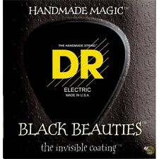 DR BKB5-45 Black Beauties Medium Gauge 5-String Bass Guitar Strings (45-125)
