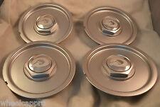 Q Quantum Tech Wheels Silver Custom Wheel Center Cap Caps Set 4 (1) # S12K156