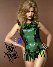 "Jane Fonda 8""x 10"" Signed Sexy Color PHOTO REPRINT"