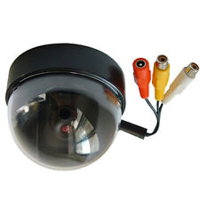 NEW CCTV COLOR CMOS SECURITY DOME HOME CAMERA WIRED SYSTEM AUDIO & VIDEO