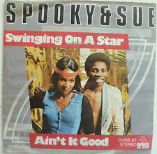 "7"" 1974 RARE ! SPOOKY & SUE ; Swinging On A Star /VG+"