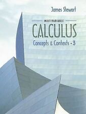 USED (GD) Multivariable Calculus: Concepts and Contexts by James Stewart